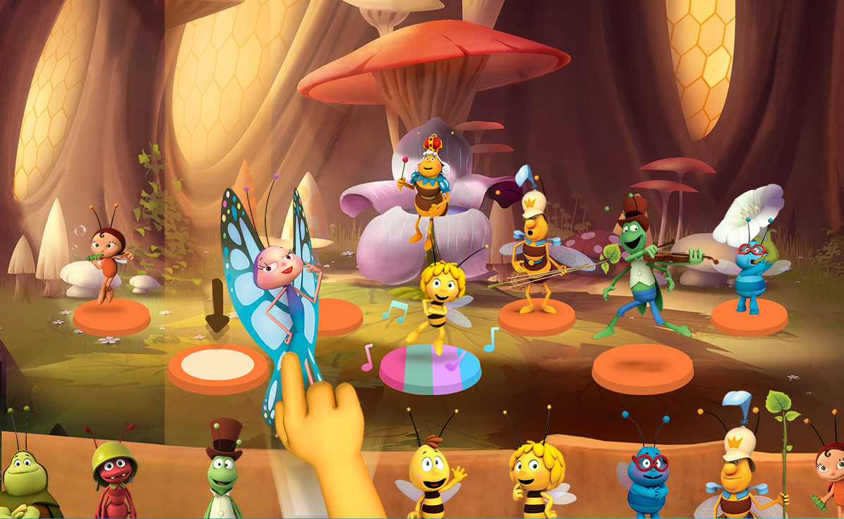 Maya The Bee: Music Academy – educational music game for kids
